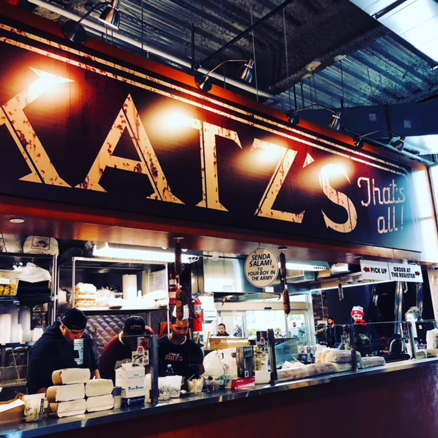 Katz Diner at Dekalb courtyard