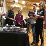 CCV staff chat with high school students at last week's College and Career Fair hosted by Springfield High School.
