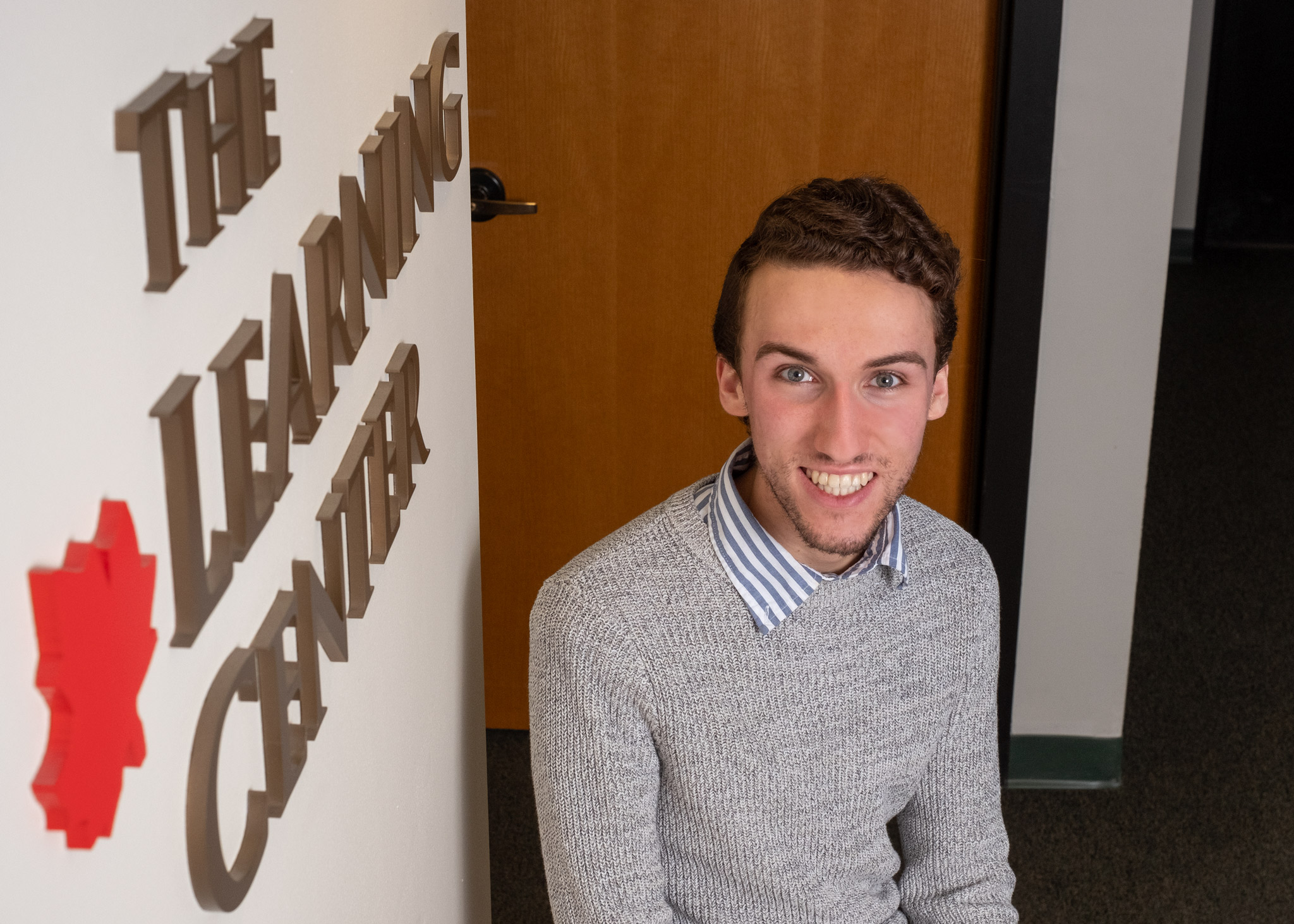 Josh Huffman completed Early College at CCV and is now finishing his sophomore year at UVM.