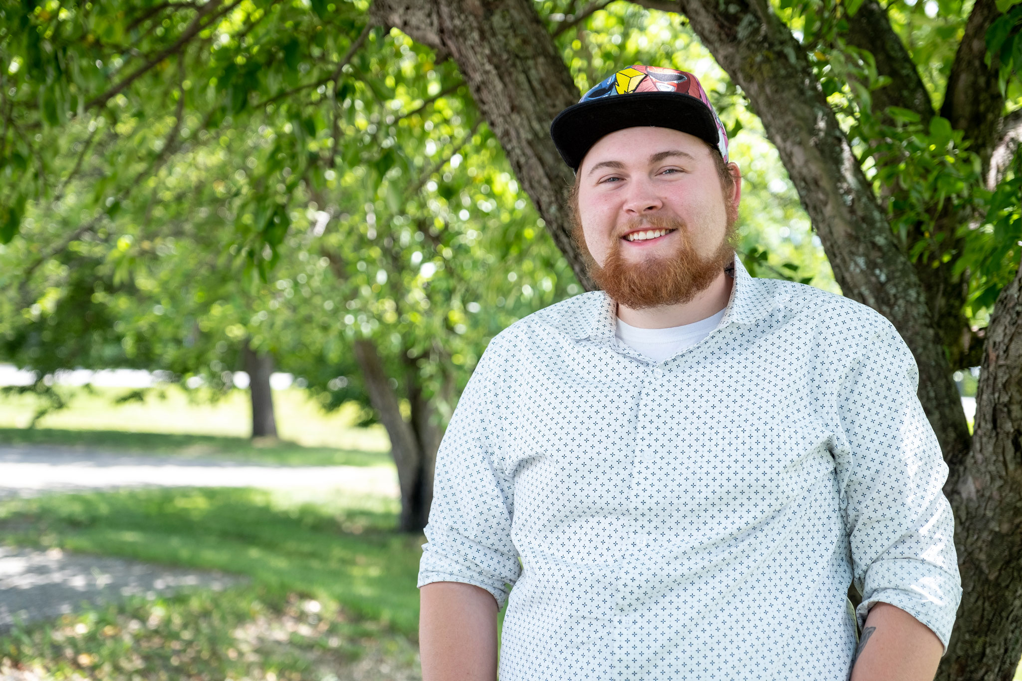 "Van Fryman took the Level Up class at CCV-Morrisville, and is now well on his way to an associate degree in STEM studies. He says, ""In Level Up, there is guaranteed respect, because that's just who we are."""