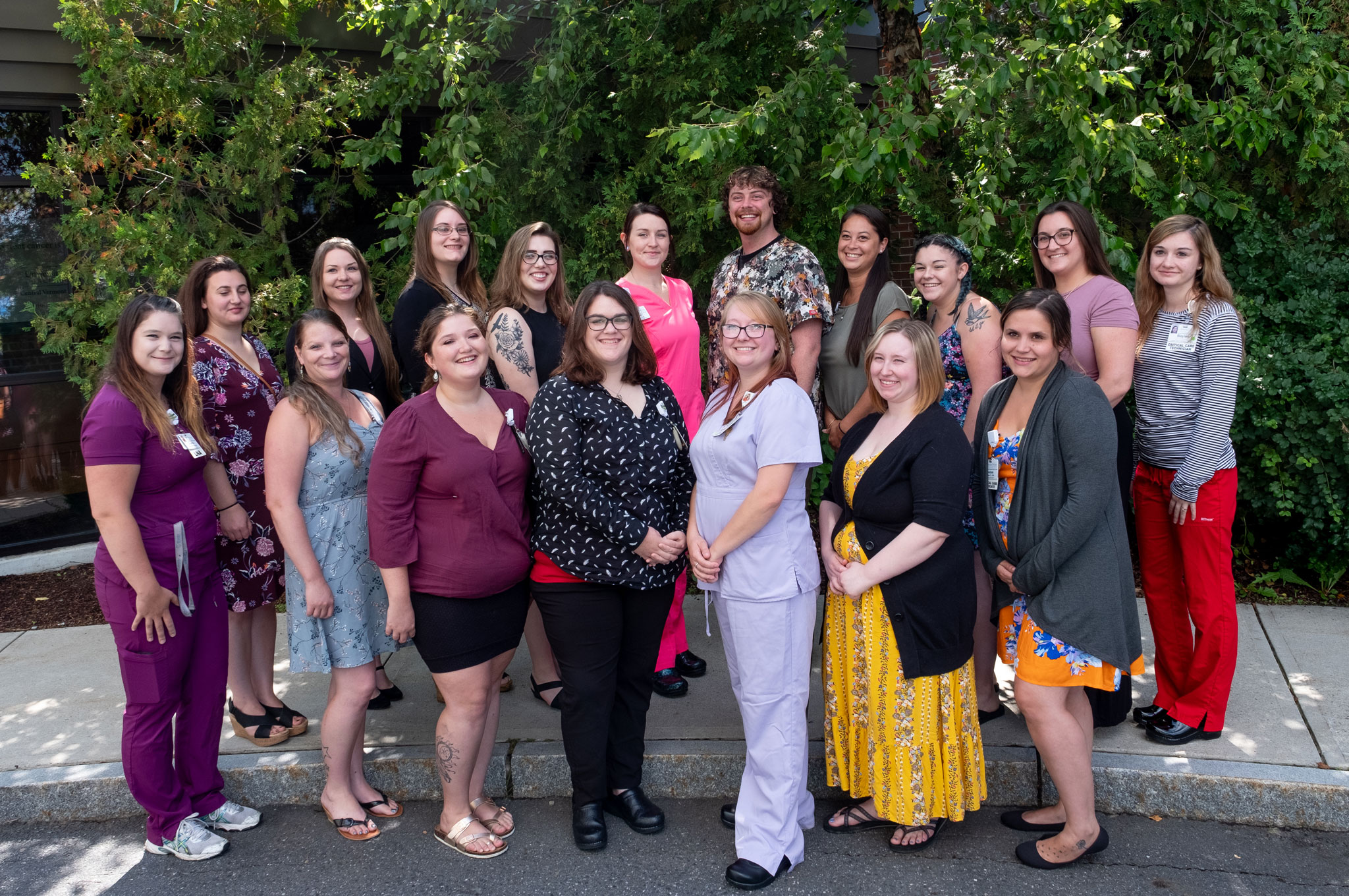 On Thursday, 18 LNAs at Central Vermont Medical Center celebrated the kick-off of their journey to becoming LPNs through a new partnership between CVMC, CCV, and Vermont Tech.