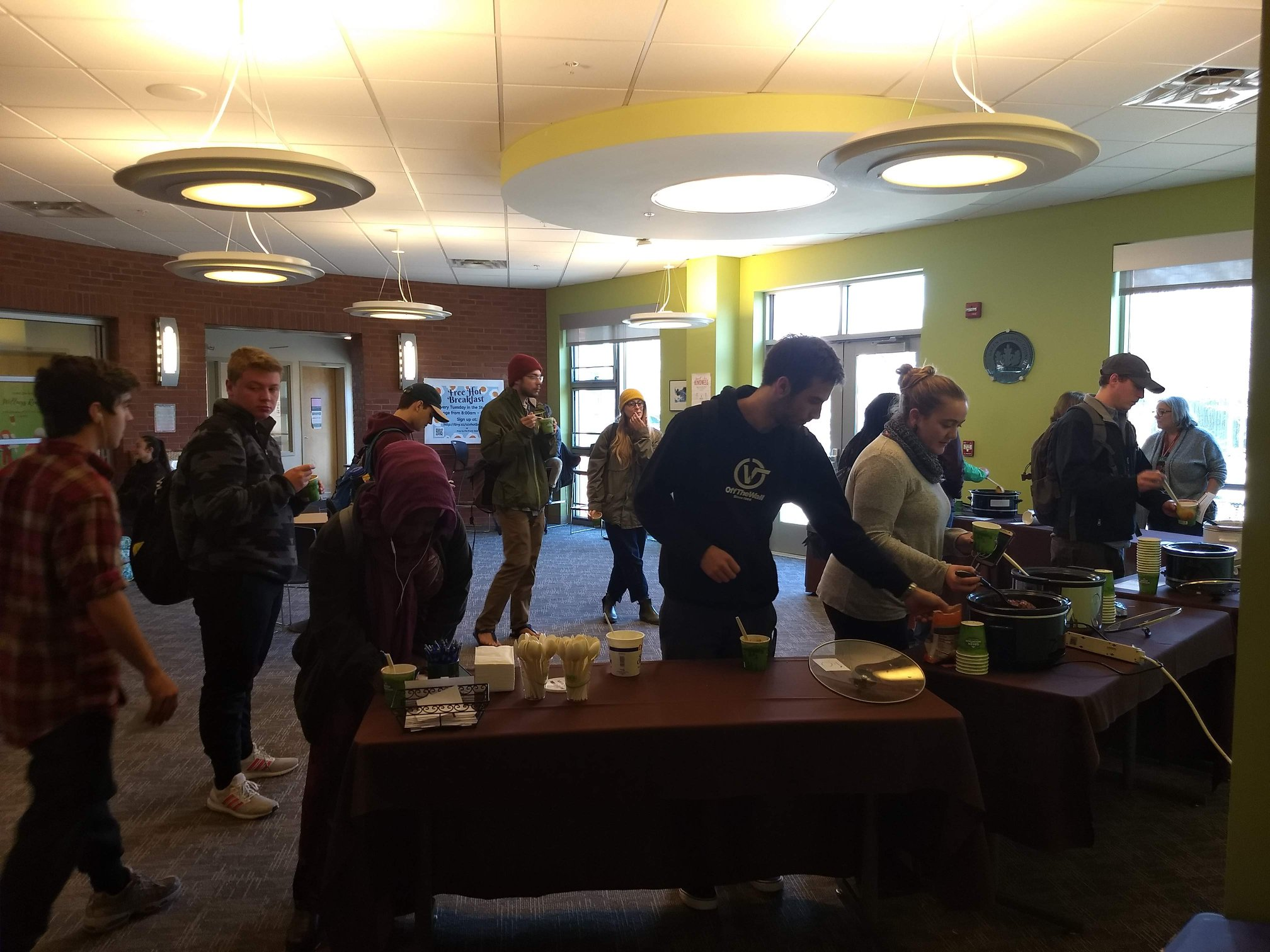 CCV-Winooski held its first annual Chili Cook-off this week, in honor of winter's early arrival!